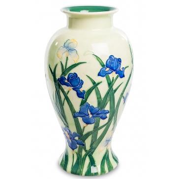 Фарфоровая ваза для цветов «Ирисы»