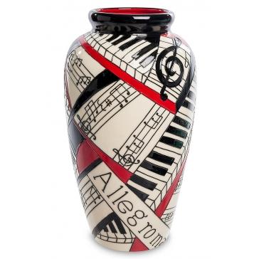 Фарфоровая ваза для цветов «Виртуоз»