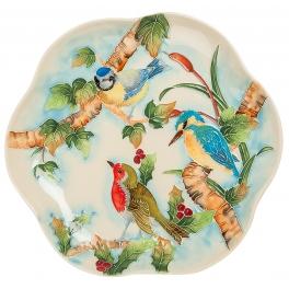 Блюдо для фруктов «Птичий хор»