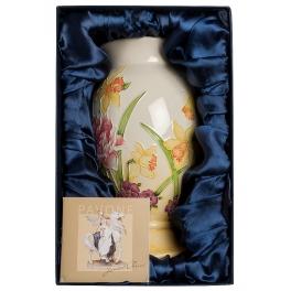 Фарфоровая ваза для цветов «Нарциссы»