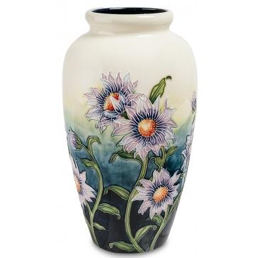 Фарфоровая ваза для цветов «Хризантема»