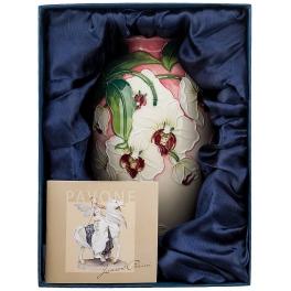 Фарфоровая ваза для цветов «Орхидея»