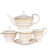 Чайный сервиз «Ноктюрн золотой»