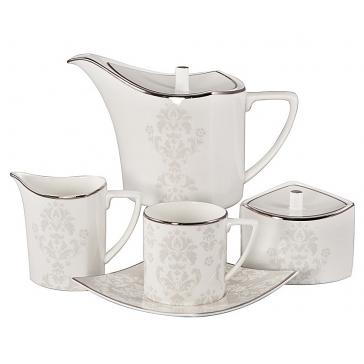 Чайный сервиз из костяного фарфора на 6 персон «Париж»