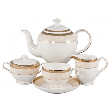 Чайный сервиз на 6 персон «Палантин Голд»