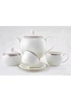 Чайный сервиз «Серебряная вышивка»