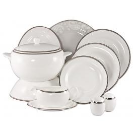 Чайный сервиз на 6 персон «Серебряная вышивка»