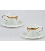 Набор из 6-ти кофейных пар «Золото Востока»