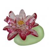 Хрустальный цветок «Лотос розовый»