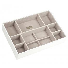 Открытая шкатулка-лоток для хранения украшений и драгоценностей