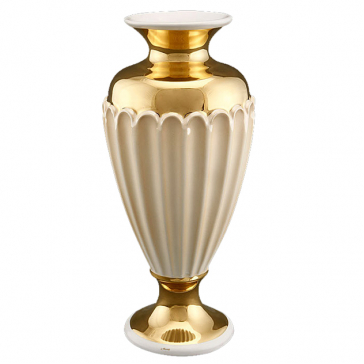 Красивая ваза из керамики «Афины», высота 29 см