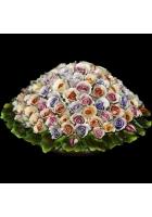 Фарфоровая статуэтка «Корзина роз»