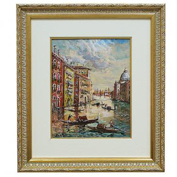 Живописная картина «Италия. Пейзаж». Da Mari.