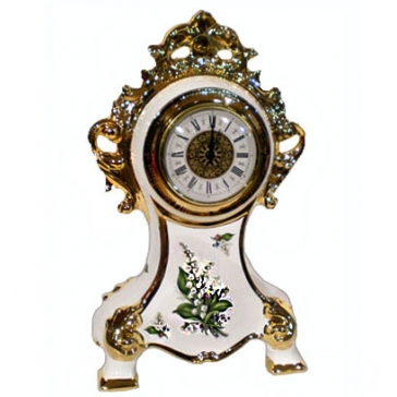 Настольные часы «Ландыши»