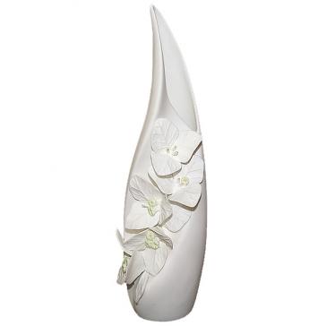 Интерьерная ваза для цветов «Бугенвиллея», костяной фарфор