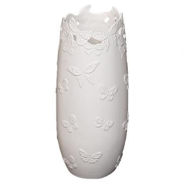 Фарфоровая ваза для цветов «Бабочки»
