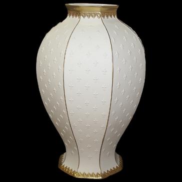 Фарфоровая ваза для цветов «Флоренция», высота 34 см, Италия