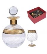 Набор «Grande Champagne»: графин и 2 бокала для коньяка
