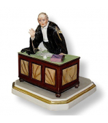 Фарфоровая статуэтка «Судья»