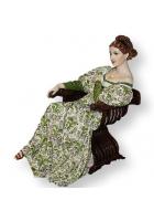 Статуэтка «Дама в кресле»