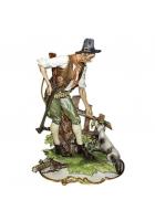 Фарфоровая статуэтка «Охотник»