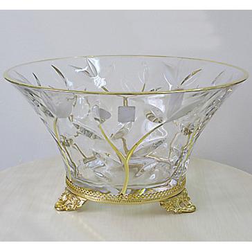 Хрустальная ваза для фруктов