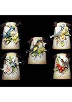 Миниатюрное панно «Поющие птички»