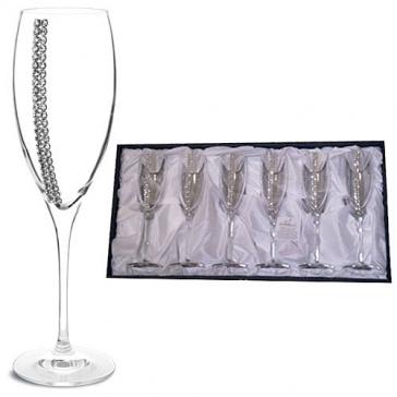Набор из 6-ти бокалов для шампанского «Конус»