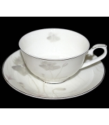 Набор из 6-ти чайных пар «Маки»