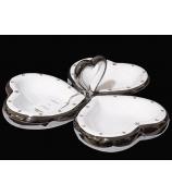 Менажница «Трио сердец»