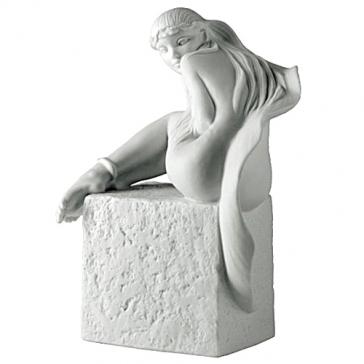 Фарфоровая статуэтка «Рыбы» (цвет белый)