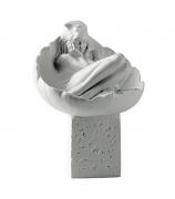 Фарфоровая статуэтка «Рак» (цвет белый)