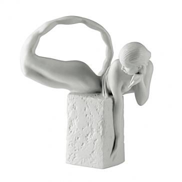 Фарфоровая статуэтка «Скорпион» (цвет белый)