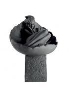 Фарфоровая статуэтка «Рак» (цвет черный)