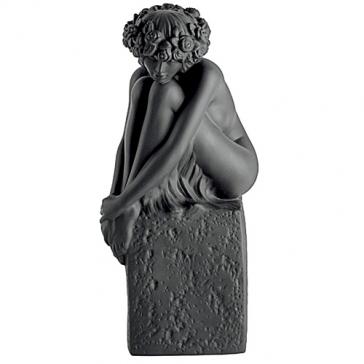Фарфоровая статуэтка «Дева» (цвет черный)