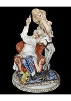 Фарфоровая статуэтка «Домашний доктор»