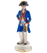Фарфоровая статуэтка «Офицер финансовой гвардии»