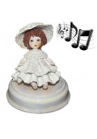 Музыкальная статуэтка «Девочка Эми»