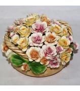 Фарфоровая статуэтка «Ассорти из роз»