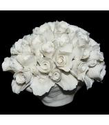 Фарфоровая статуэтка «Букет роз»