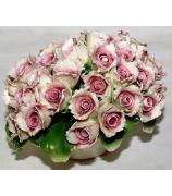 Фарфоровая статуэтка «Букет розовых роз»