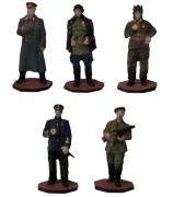 Оловянные миниатюрные фигурки «Советские войска — Великая Отечественная война»