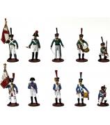Оловянные миниатюрные фигурки «Бородинское сражение»