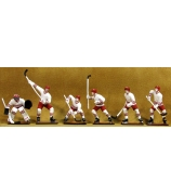Набор оловянных фигурок «Хоккеисты»