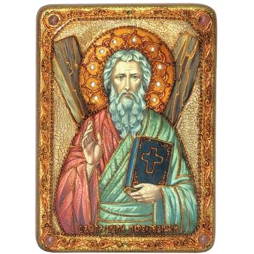 Подарочная икона «Святой апостол Андрей Первозванный»
