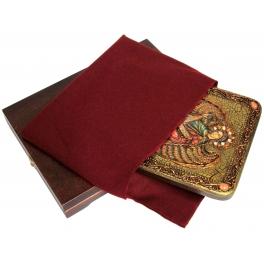 Икона «Архангел Гавриил» на дубовой доске в подарочной шкатулке