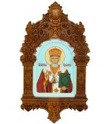 Икона «Святитель Николай, архиепископ Мир Ликийских, чудотворец»