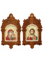 Казанская Божия Матерь и Господь Вседержитель