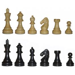 Классические шахматы, деревянные, с утяжелителем