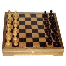 Игровой набор: шахматы-неваляшки + шашки